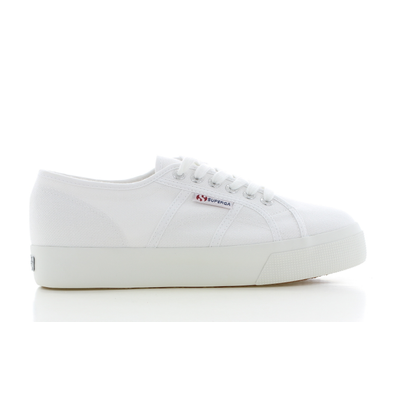 Superga Cotu Mid Sole Wit Dames productafbeelding