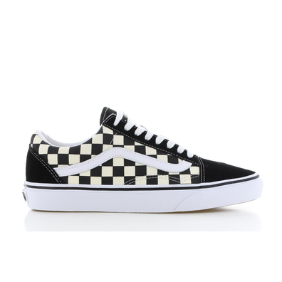 Vans UA Old Skool Checkerboard Zwart/Wit Dames productafbeelding