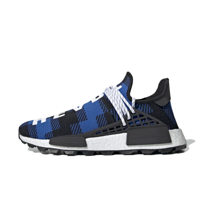 Pharrell Williams X BBC X adidas Hu NMD 'Power Blue productafbeelding
