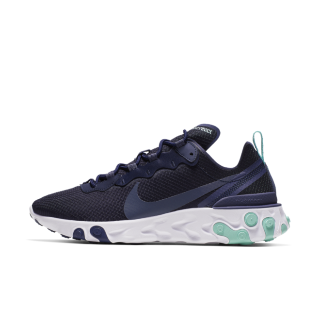 Nike React Element 55 'Dark Obsidian' zijaanzicht