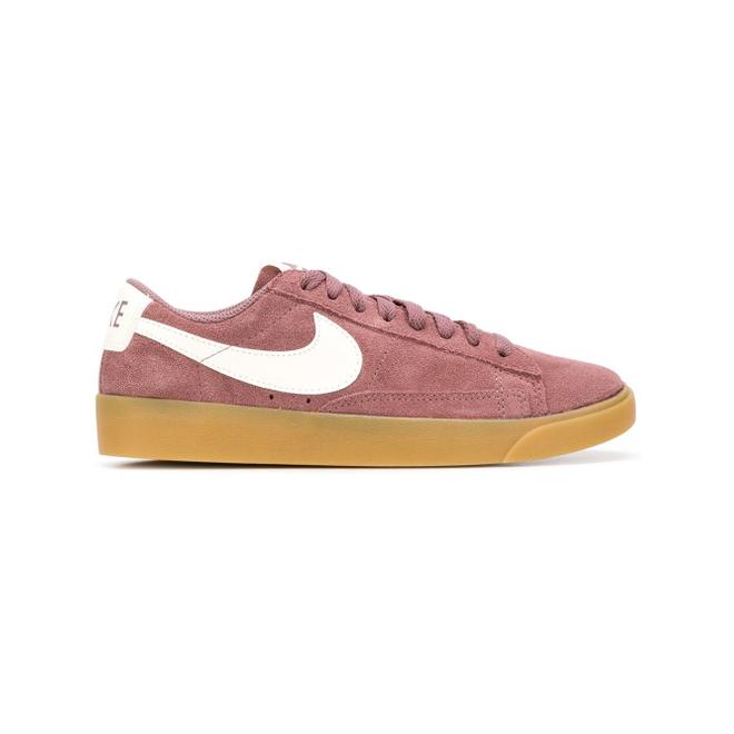 Nike Blazer Low SD - Roze zijaanzicht