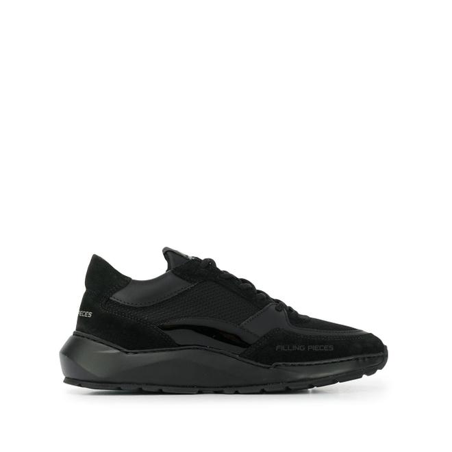 Filling Pieces Sneakers met logo - Zwart 37727191847
