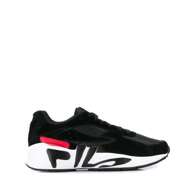 Fila Sneakers met logo op de zool - Zwart