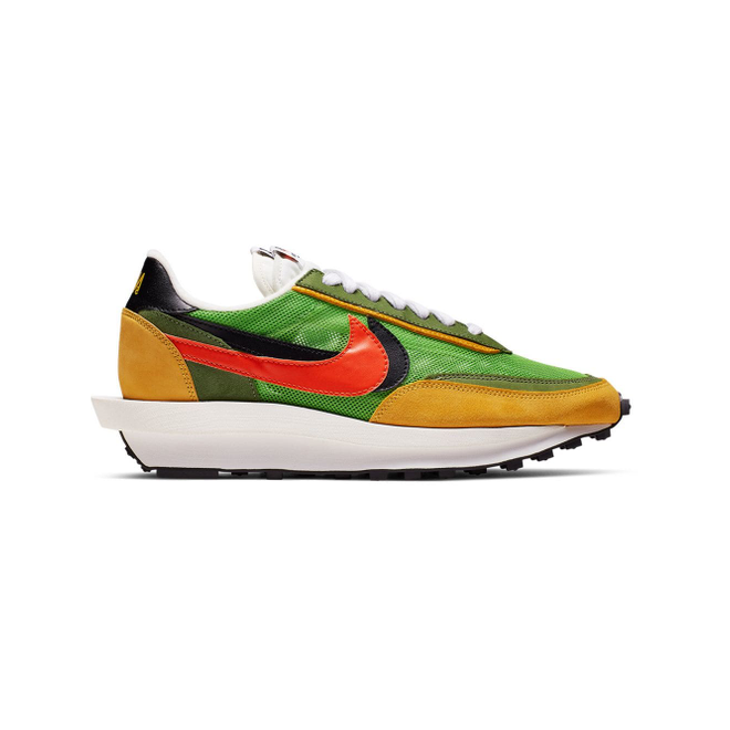 Nike NIKE X SACAI LDV SNKR GRN YEL MULTI - Groen