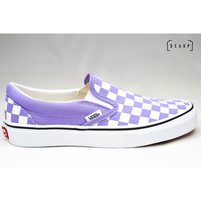 Vans Classic Slip-On Checkerboard 'Violet Tulip' VN0A38F7VLX1