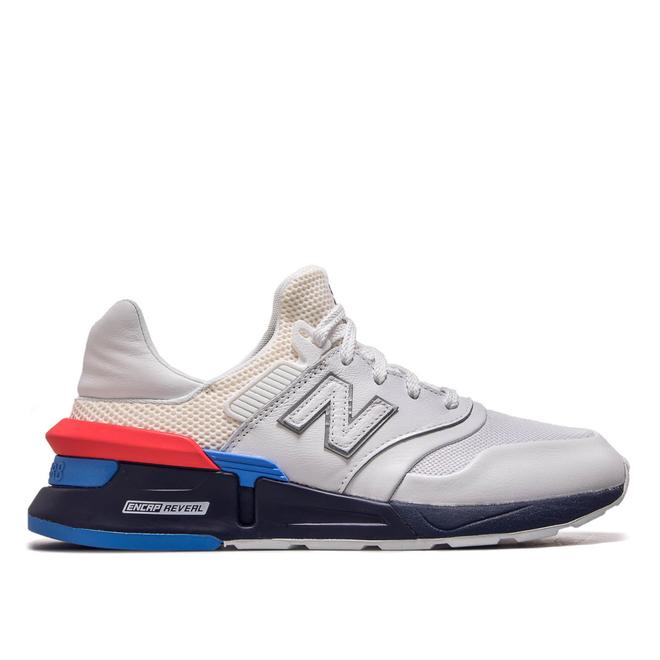 Herren Sneaker MS997 HE White Blue Red