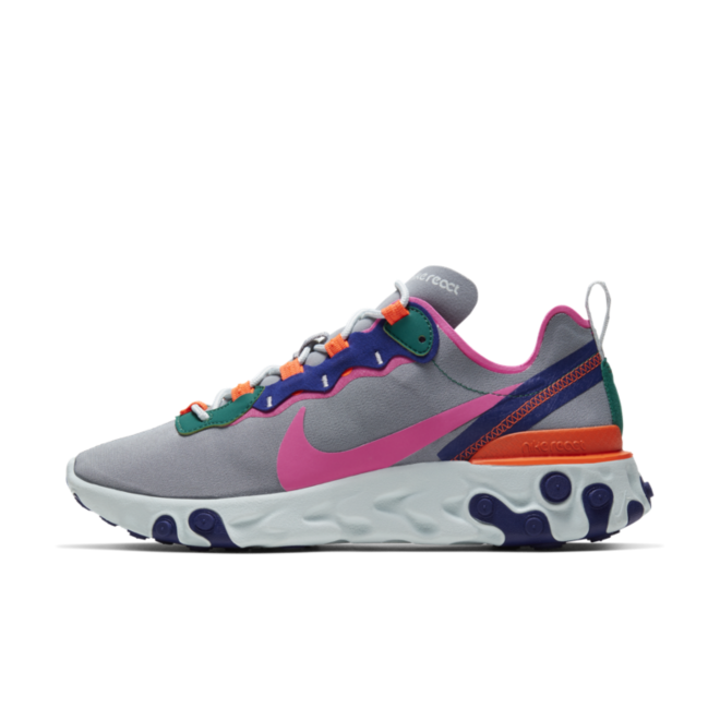 Nike WMNS React Element 55 'Wolf Grey'