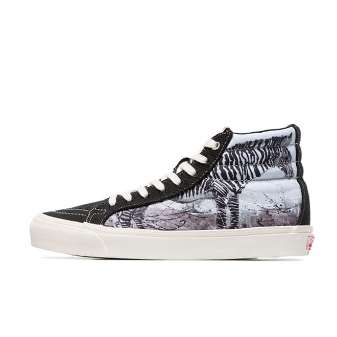 Ralph Steadman X Vans Hi 'Zebra'