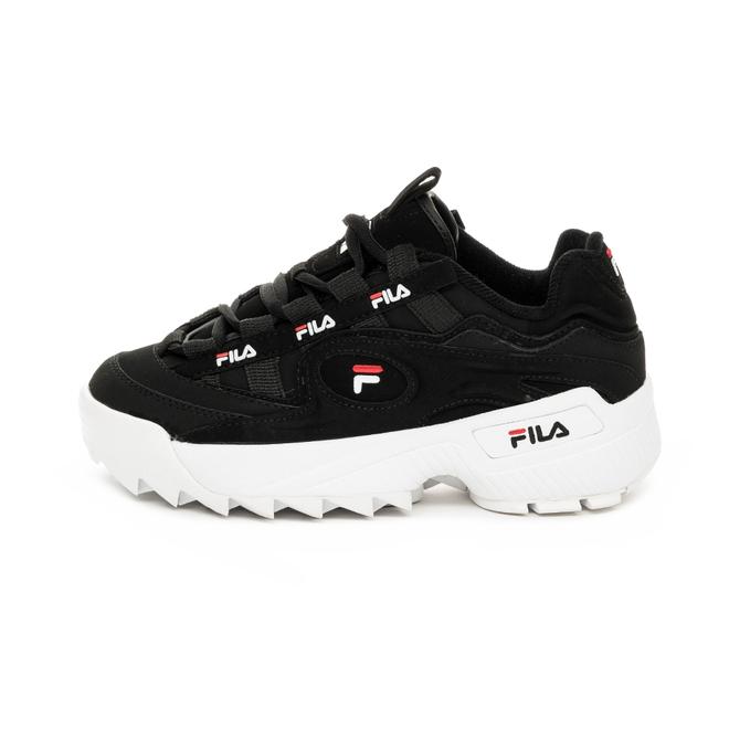FILA D-Formation Wmn (Black / White / Fila Red) | 5CM00512.014