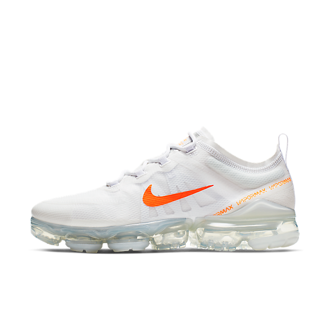 bbc2d731cc Nike Air Vapormax 2019 (White / Total Orange - Cool Grey) | CI6400 ...