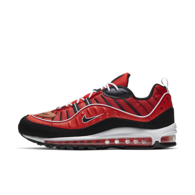 Nike Air Max 98 'Red' zijaanzicht