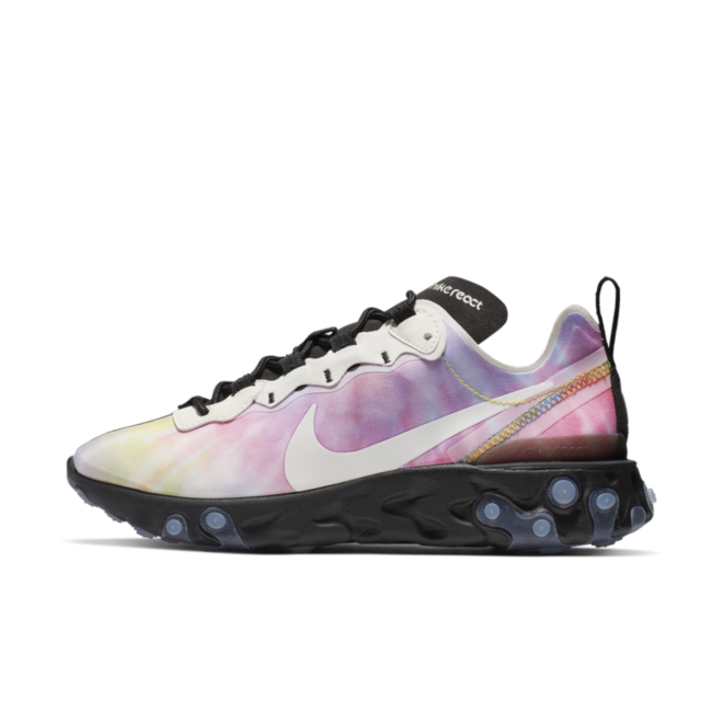Nike React Element 55 'Tie-Dye' zijaanzicht