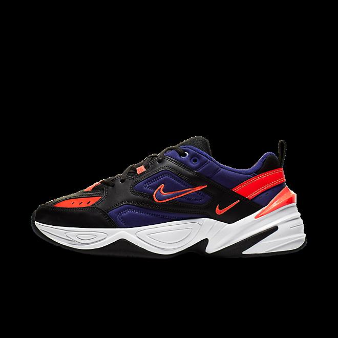 Nike M2K Tekno (Black / Deep Royal Blue - Bright Crimson)