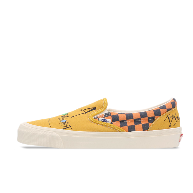 Ralph Steadman X Vans Slip-On 'Yellow' VA45JKVGO