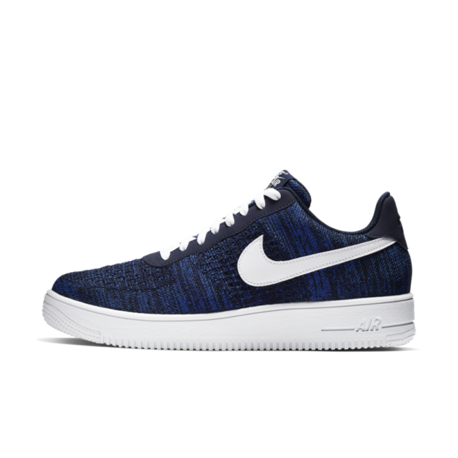 Nike Air Force 1 Flyknit 'Navy'