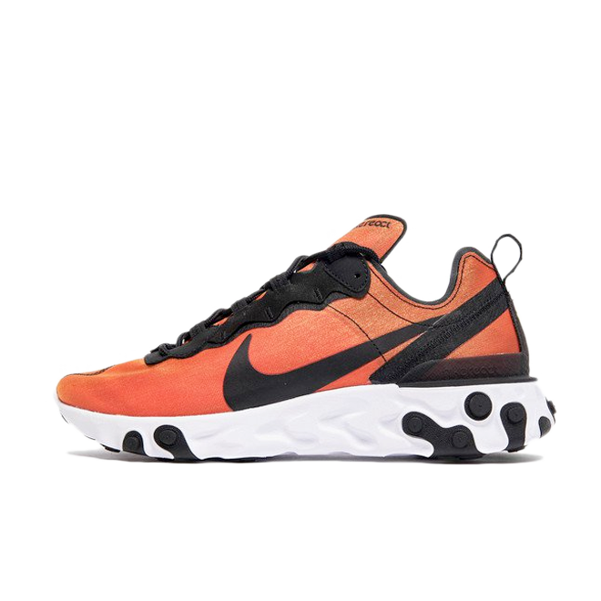 Nike React Element 55 Premium 'Orange' zijaanzicht