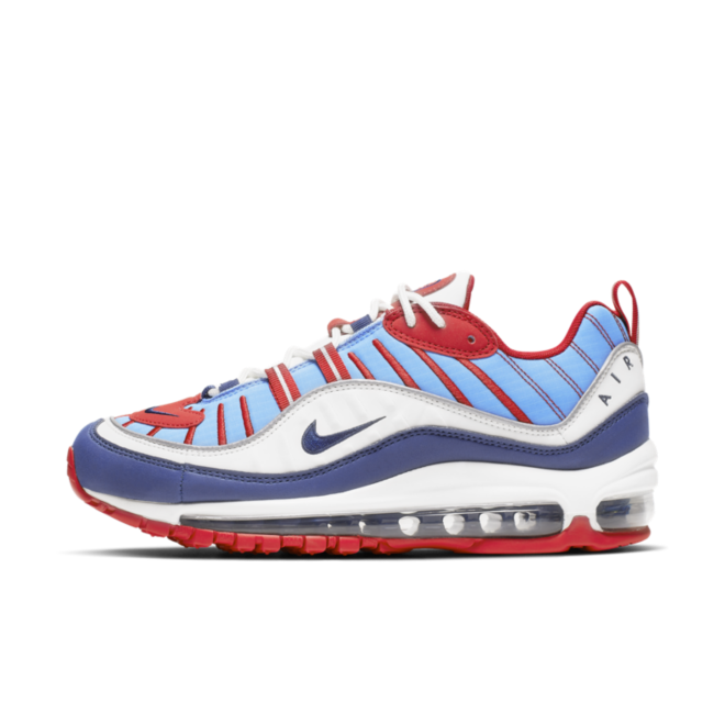 Nike Air Max 98 'Blue' zijaanzicht