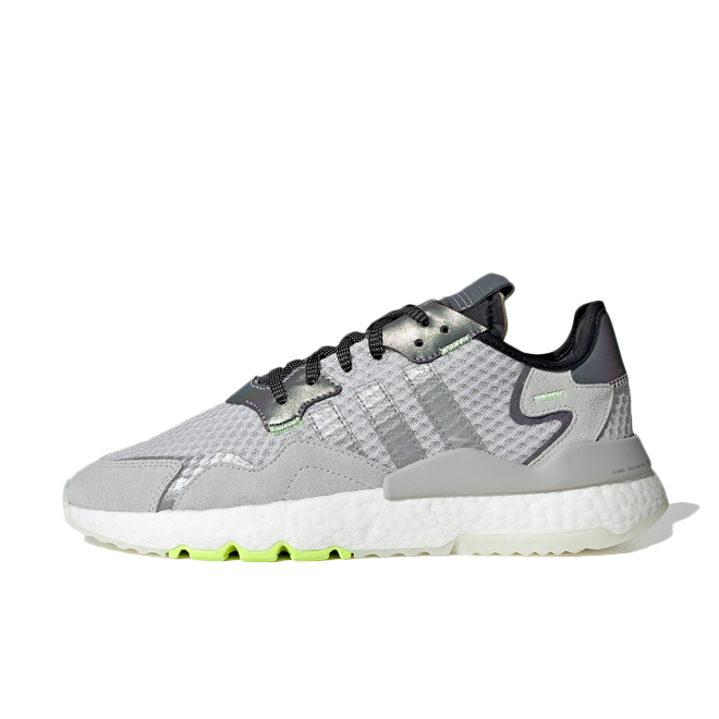 adidas Nite Jogger 'Light Solid Grey' zijaanzicht