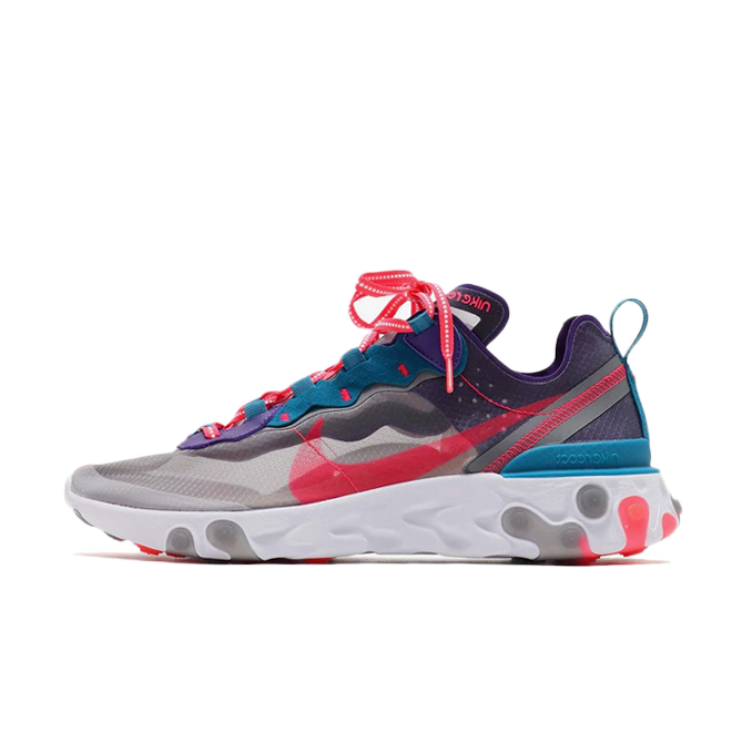Nike React Element 87 'Red Orbit' zijaanzicht