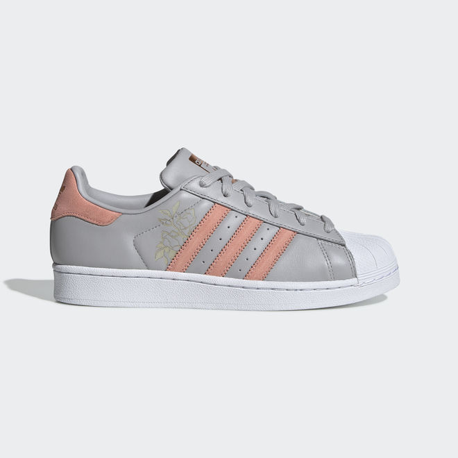 adidas Superstar W Grey Two/ Trace Pink/ Ftw White
