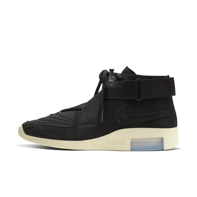 Nike Air Fear Of God Raid 'Black' zijaanzicht