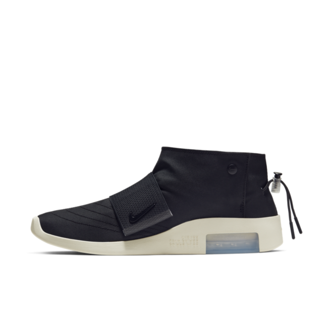 Nike Air Fear Of God Moc 'Black' zijaanzicht
