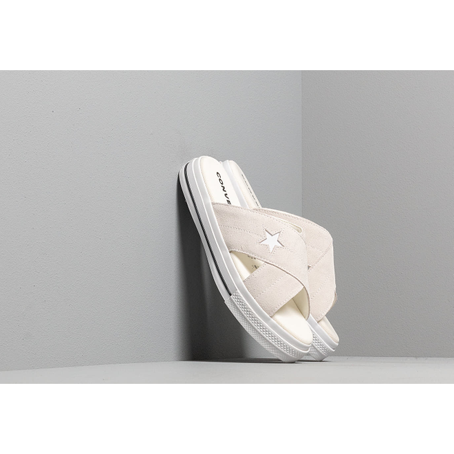 Converse One Star Sandal Egret/ Egret/ White