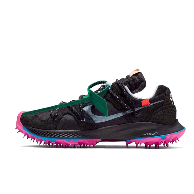 Off White X Nike WMNS Zoom Terra Kiger 5 'Black' CD8179-001