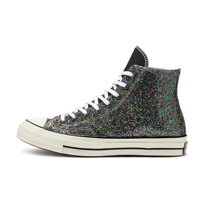 JW Anderson X Converse Chuck 70 'Black Glitter zijaanzicht