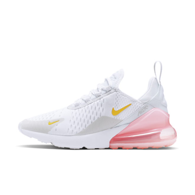 Nike WMNS Air Max 270 'White & Pale Pink' | CI9088 100