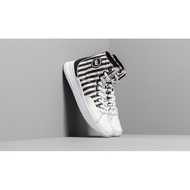 Supra Statik White Stripe/ White