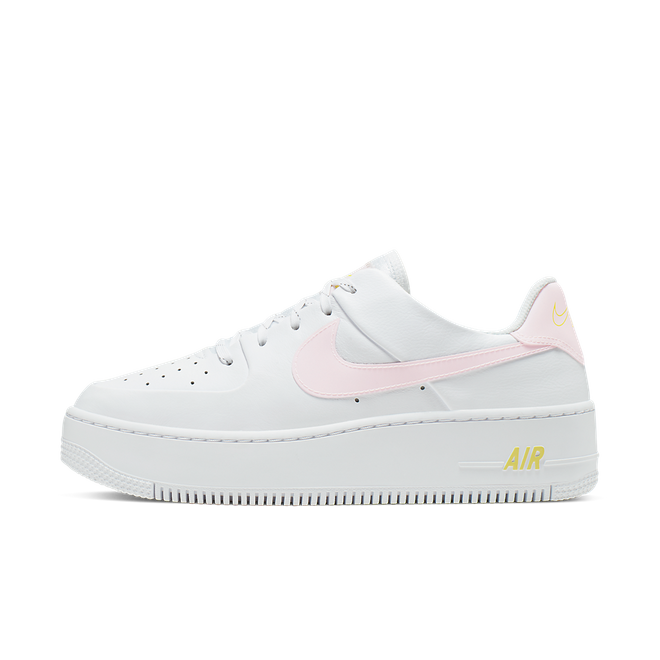 Nike Air Force 1 Sage 'White & Pale Pink'