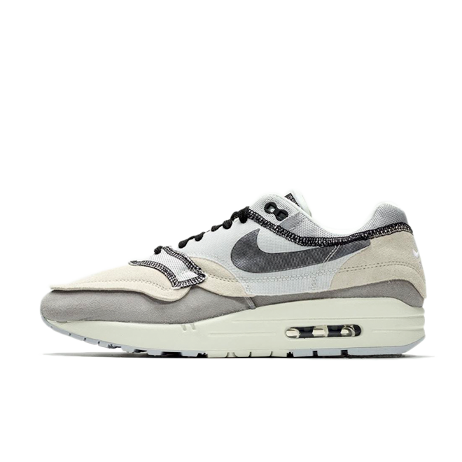 Nike Air Max 1 Inside Out 'Grey' zijaanzicht