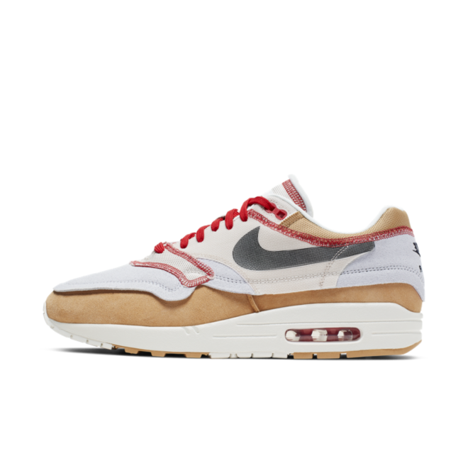 Nike Air Max 1 Inside Out 'Brown' zijaanzicht