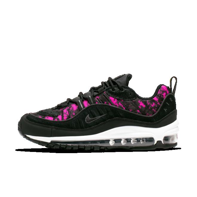 Nike WMNS Air Max 98 Premium 'Pink Camo' zijaanzicht