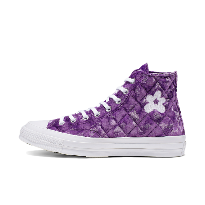 Converse x Golf Le Fleur Chuck 70 Hi 'Tillandsia Purple' zijaanzicht