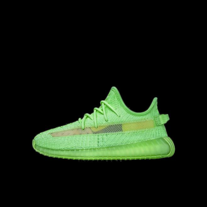 adidas Yeezy Boost 350V2 Glow 'Kids' zijaanzicht
