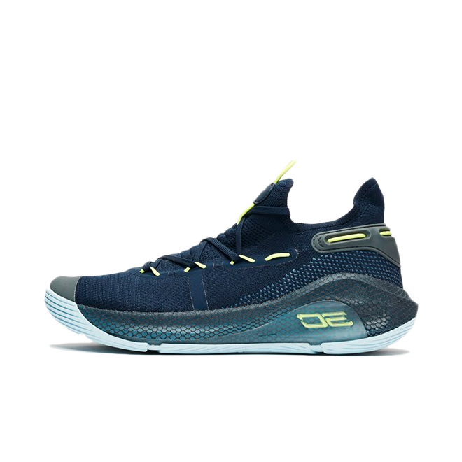 Under Armour Curry 6 'Navy' zijaanzicht