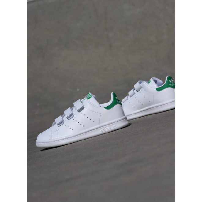 Adidas Stan Smith O.G White/Green Velcro PS