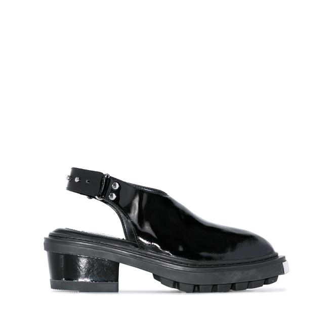 Eytys Carmen slingbacks van lakleer - Zwart