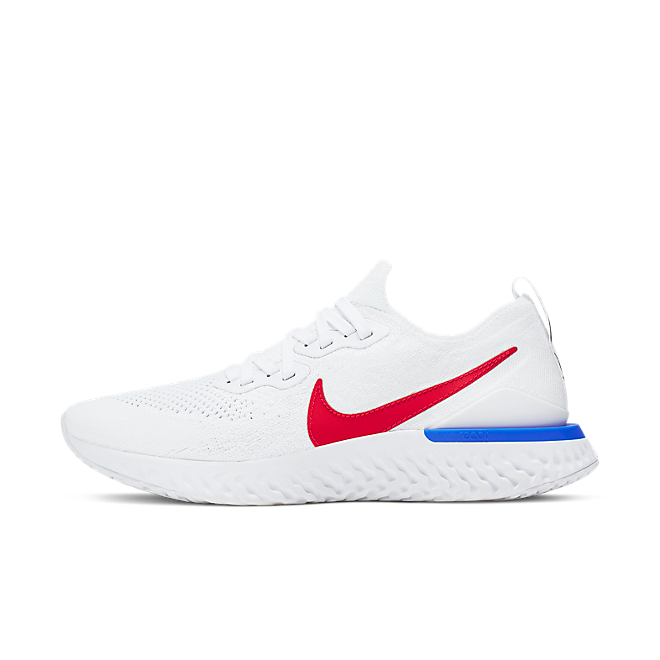Nike Epic React Flyknit 2 'University Red' zijaanzicht