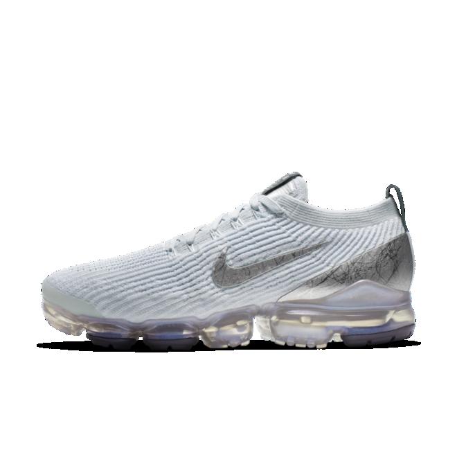Nike Air Vapormax FK 3 Silver' zijaanzicht