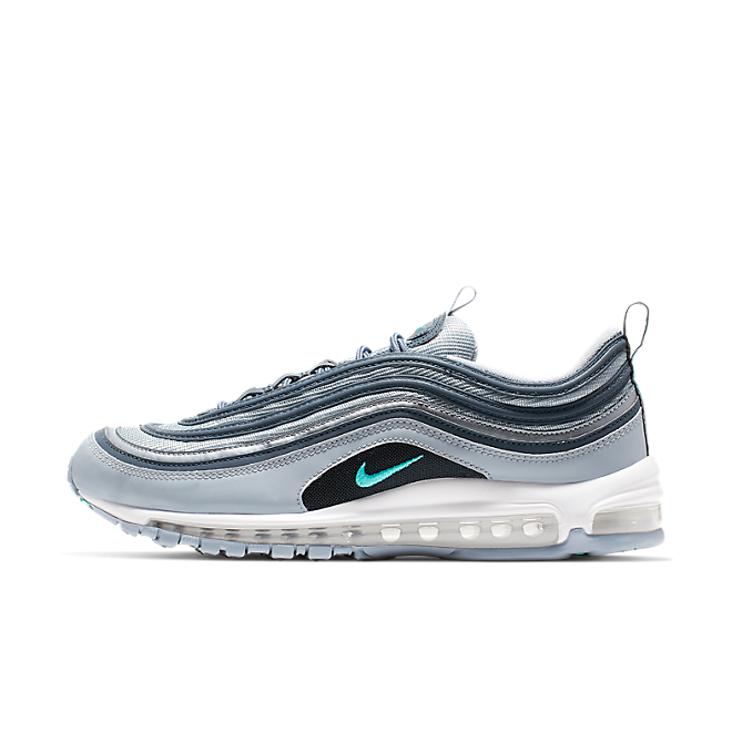 Nike Air Max 97 Essential (Obsidian Mist / Hyper Jade - Monsoon Blue)