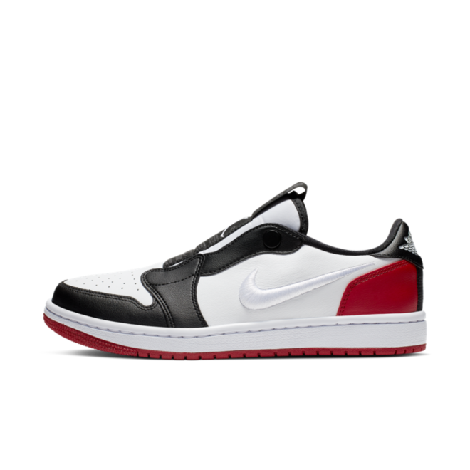 Air Jordan 1 Low Slip-On 'Black Toe' zijaanzicht