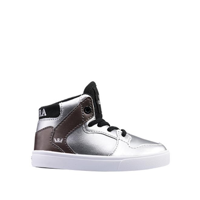 Supra Vaider silver/black-white