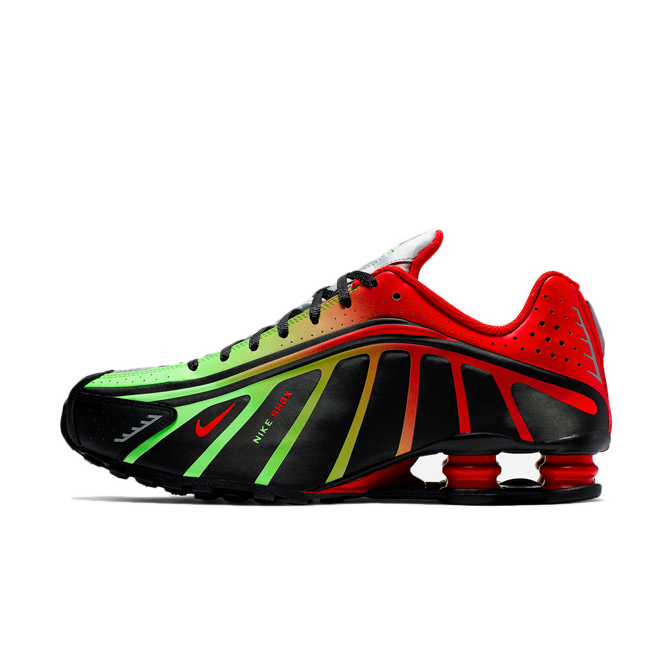 Neymar JR X Nike Shox R4 'Red/Green'