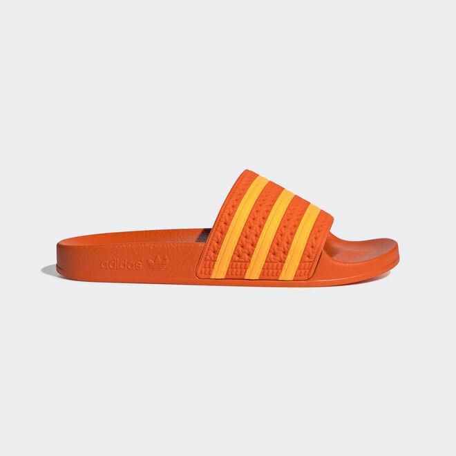 adidas Adilette W (Orange / Flame Orange / Orange)
