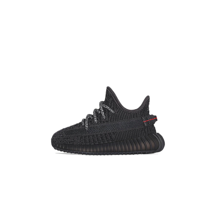 adidas Yeezy Boost 350 v2 Infant 'Black' zijaanzicht