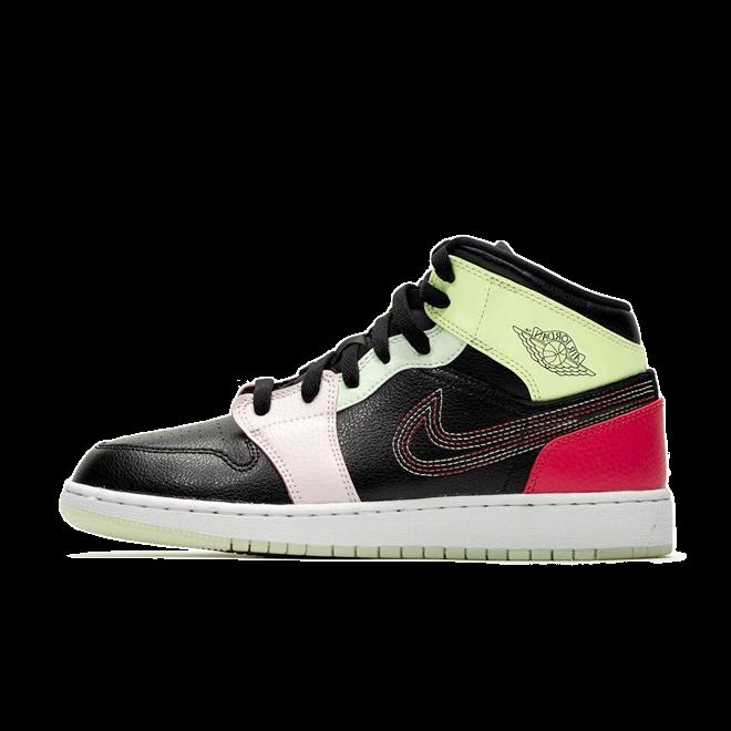 Air Jordan 1 Mid 'Glow' zijaanzicht