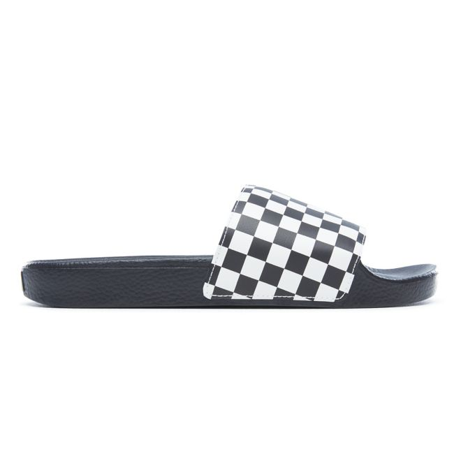 Vans Slide-On *Checkerboard* (White)